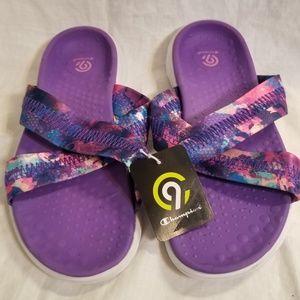 Champion Girls Slip On Sandals